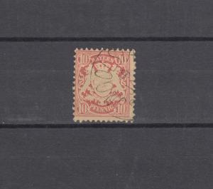 Bayern 39a Wappen 3 Pfennig - Stempel INGOLSTADT 19.1.