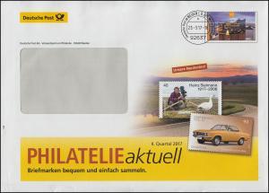 Plusbrief Elbphilharmonie PHILATELIE aktuell II. Quart. Sielmann, WEIDEN 23.3.17