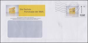 Plusbrief Indivuduell Postcard 90 Cent EAI A4, Briefzentrum 32 - 8.12.15, mit DV