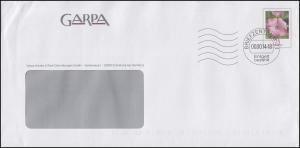 Plusbrief mit Malve 25 Cent - GARPA Escheburg, Stempel Briefzentrum 21 - 2014