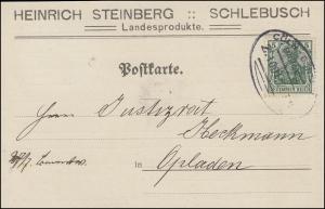 Bahnpost CÖLN-DORTMUND Zug. 1001 - 27.7.14 Postkarte EF Germania 5 nach Opladen