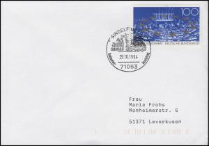 1422 Europarat, EF SSt Sindelfingen 45 Jahre Europarat & Europafahne 4.11.1994