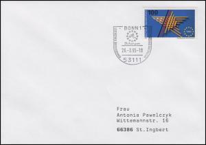 Schengener Übereinkommen & Wegfall der Binnengrenzen, EF Bf SSt Bonn 26.3.1995