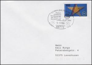 1644 Europäischer Binnenmarkt EF Bf SSt Schwalbach Abbau Grenzkontrollen 16.9.94