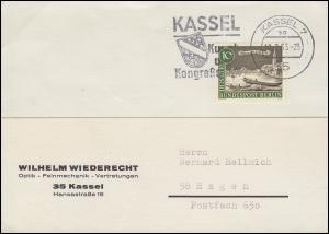 219 Alt-Berlin Waisenbrücke auf Postkarte KASSEL 10.3.1963 nach Hagen