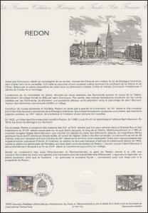 Collection Historique: Gemeinde Redon im Département Ille-et-Vilaine 7.3.1987