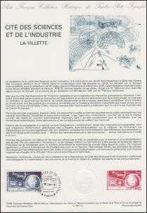 Collection Historique: Cité des sciences et de l'industrie La Villette 14.3.1996