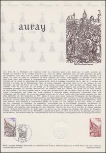 Collection Historique: Gemeinde Auray / Bretagne & Fachwerkbauten 30.6.1979