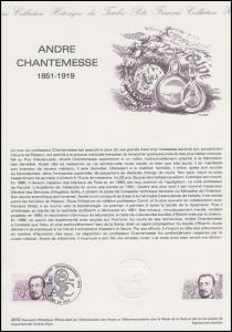 Collection Historique: Arzt und Biologe André Chantemesse 23.10.1982