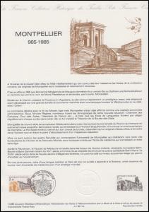 Collection Historique: Stadt und Architektur Montpellier 30.3.1985
