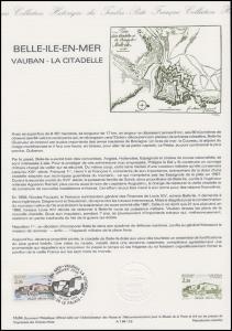 Collection Historique: Festungsanlage Belle-Ile-en-mer Vauban 26.5.1984