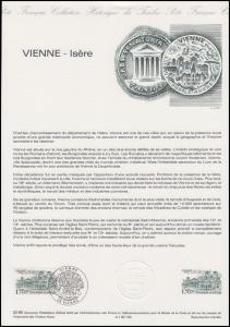 Collection Historique: Stadt Vienne - Isère / Tempel & Basilika 19.1.1985