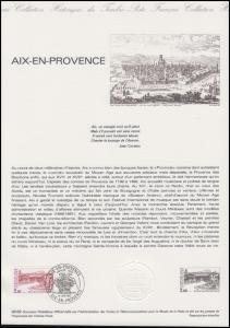 Collection Historique: Universitätsstadt Aix-en-Provence 19.6.1982