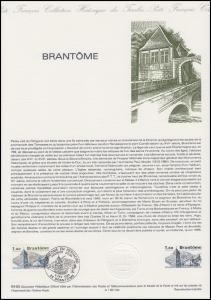 Collection Historique: Touristenziel Brantome im Périgord 5.2.1983