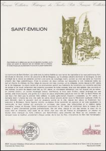 Collection Historique: UNESCO-Weltkulturerbe & Weinbaugebiet Saint-Émilion 1981