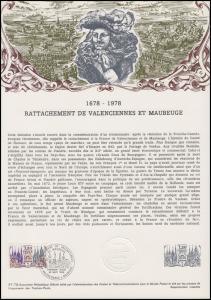 Collection Historique: Städte Valenciennes und Maubeuge 30.9.1978