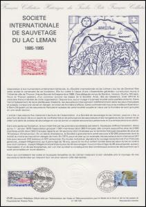 Collection Historique: Internationale Seenotrettung Konferenz Genf 5.5.1985