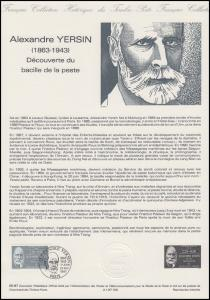 Collection Historique: Entdecker des Pestbazillus - Alexandre Yersin 21.2.1987