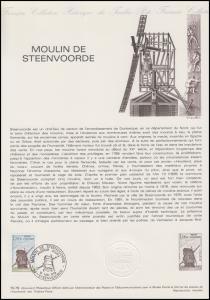Collection Historique: Holländerwindmühle Steenvoorde Moulin de Steenvoorde 1979
