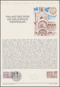 Collection Historique: Palais des Rois de Majorque Palast in Perpignan 21.4.1979