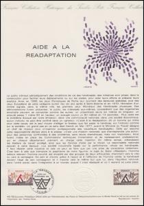 Collection Historique: Aide à la Réhabilitation Rehabilitationshilfe 18.11.1978