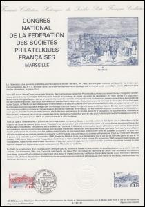 Collection Historique: Nationaler Philatelisten-Kongress Marseille 21.5.1983