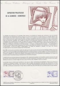 Collection Historique: Jugend-Briefmarkenausstellung in Dunkerque 21.4.1984