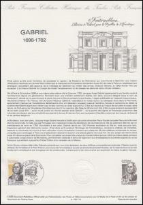 Collection Historique: Architekt des Klassizismus Ange-Jacques Gabriel 16.4.1983