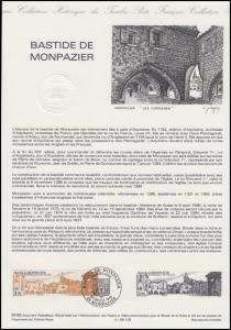 Collection Historique: Dorf- und Stadtanlage Monpazier Bastide de Monpazier 1986