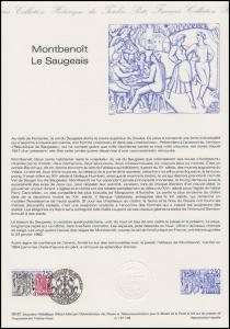 Collection Historique: Kloster und Kirche Montbenoit Le Saugeais 19.9.1987
