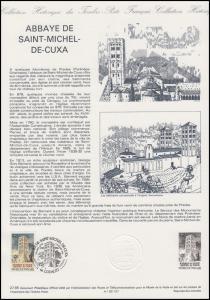 Collection Historique: Abbaye / Abtei von Saint-Michel-de-Cuxa 6.7.1985