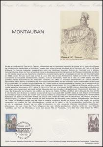 Collection Historique: Stadt Montauban - Tarn und die alte Brücke 17.5.1980