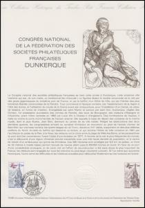 Collection Historique: Nationaler Philatelisten-Kongress Dunkerque 24.5.1980