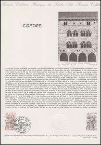 Collection Historique: Gemeinde Cordes-sur-Ciel 5.4.1980