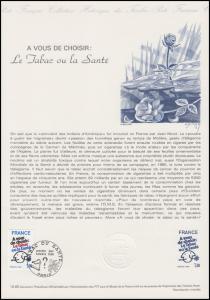 Collection Historique: Antiraucher-Kampagne - Le Ttabac ou la Santé 5.4.1980