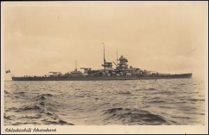 Feldpost BS Marine-Kraftfahrabteilung AK Schlachtschiff Scharnhorst, 30.12.40
