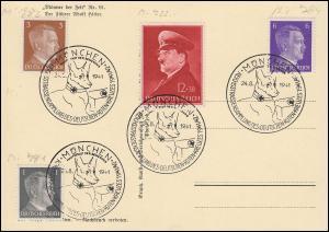 SSt Reichsstraßensammlung des Deutschen Roten Kreuzes / Schäferhund 24.8.1941