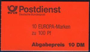 30 MH Europa/CEPT mit VS-O Berlin 16.6.94 und mit vier postfrischen Marken