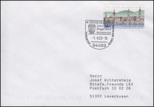2244 Deggendorf EF Bf SSt Deggendorf 1000 Jahre Mittelalterlicher Markt 1.6.2002