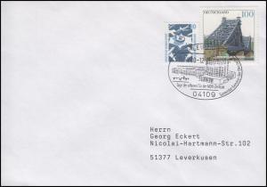 MDR-Zentrale Leipzig Mitteldeutscher Rundfunk, MiF Brief SSt Leipzig 16.9.2000