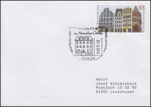 2357 Altstadt Görlitz, EF Brief SSt Görlitz 10. Altstadtfest 27.8.2010