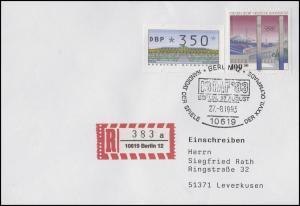 1652 Olympiastadion, R-Bf SSt Berlin Kandidat der Olympischen Spiele 27.8.1993