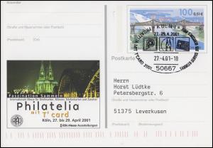 PSo 76 Philatelia Köln Eisenbahnbrücke Rendsburg SSt Köln Messe-Symbole 274.2001