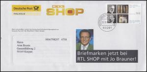 2389 Ehrlich & Bering Werbebrief Briefmarken bei RTL-Shop, FRANKFURT 25.10.04