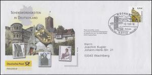 Post-Brief Sehenswürdigkeiten EF 2300 SWK Alte Oper SSt BONN World Net 6.1.03