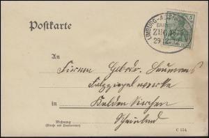 Bahnpost LIMBURG - ALTENKIRCHEN ZUG 3875 - 29.12.12 auf PK nach Kaldenkirchen