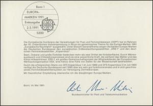 MinKa 20/1991 Weltraumfahrt, Satellit