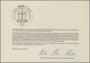 MinKa 05/1984 Passionsspiele Oberammergau
