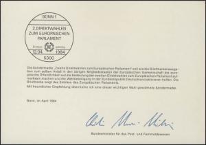 MinKa 08/1984 Europäische Parlament