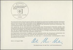 MinKa 20/1984 Archivkongreß, Bonn